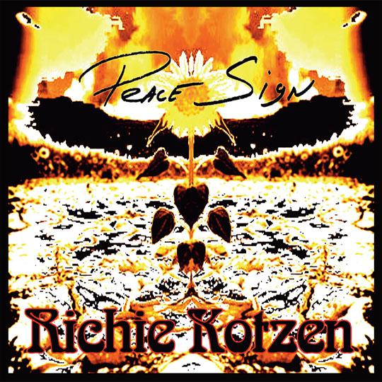 Richie Kotzen Peace Sign