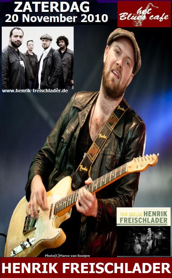 Poster Henrik Freischlader - Bluescafe Apeldoorn