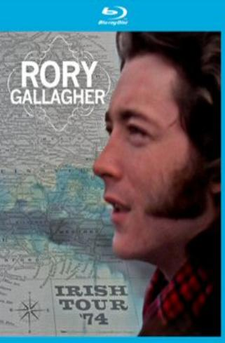 RORY GALLAGHER IRISH TOUR 1974 on DVD and BLU-RAY