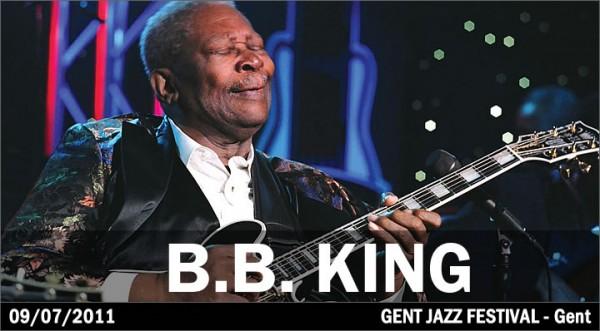 B.B. King - Gent Jazz Festival 2011