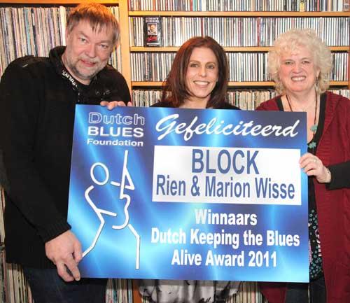 Dutch Keeping The Blues Alive Award voor bluestijdschrift BLOCK