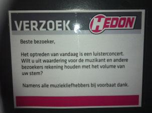 Barrelhouse en Ruben Hoeke Band - Hedon - Zwolle - 2 November 2012