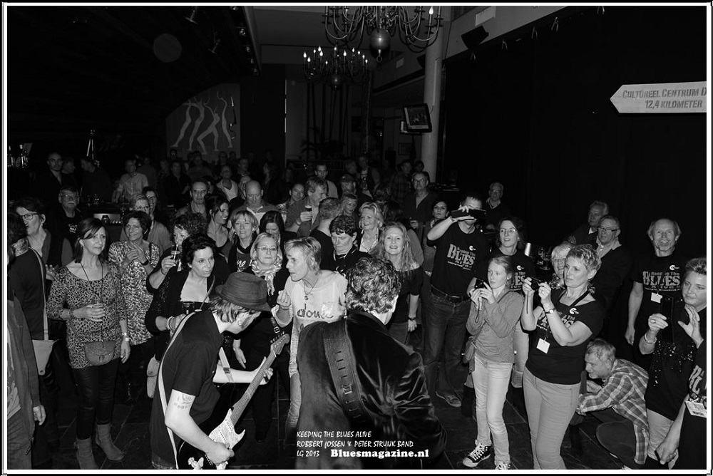 Keeping The Blues Alive - Robbert Fossen en Peter Struijk Band - 24-11-2013 (1)