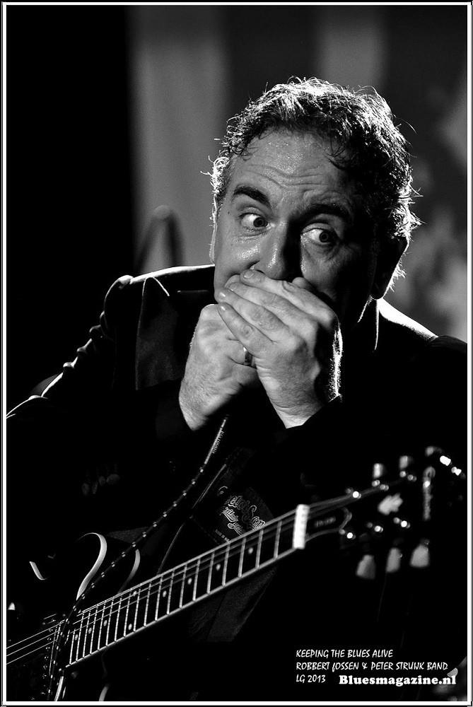 Keeping The Blues Alive - Robbert Fossen en Peter Struijk Band - 24-11-2013 (10)