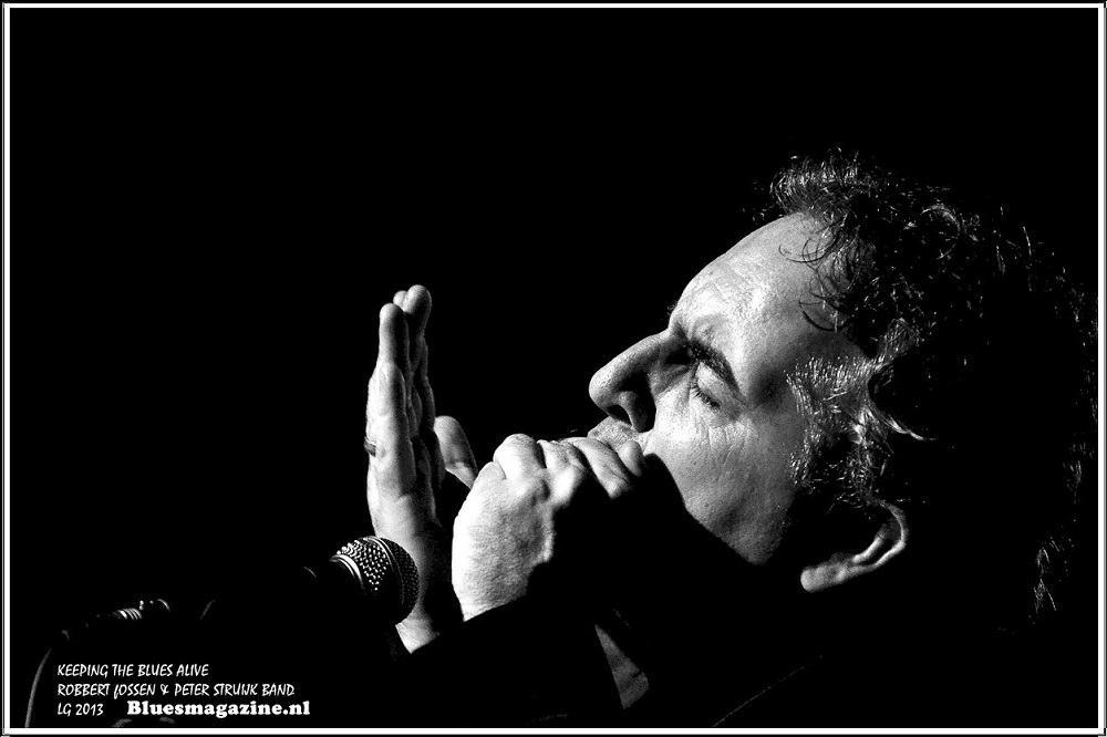 Keeping The Blues Alive - Robbert Fossen en Peter Struijk Band - 24-11-2013 (14)