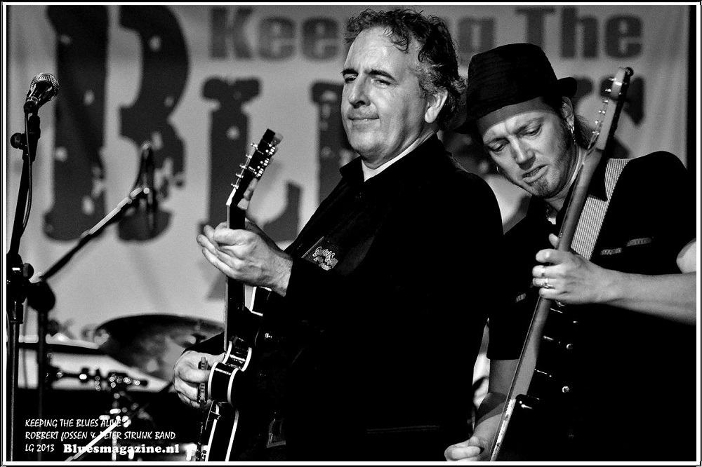 Keeping The Blues Alive - Robbert Fossen en Peter Struijk Band - 24-11-2013 (20)