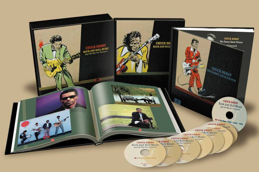 CHUCK BERRY : Rock And Roll Music - Any Old Way You Choose It - The Complete Studio Recordings ... Plus!