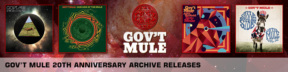govt mule archive live releases