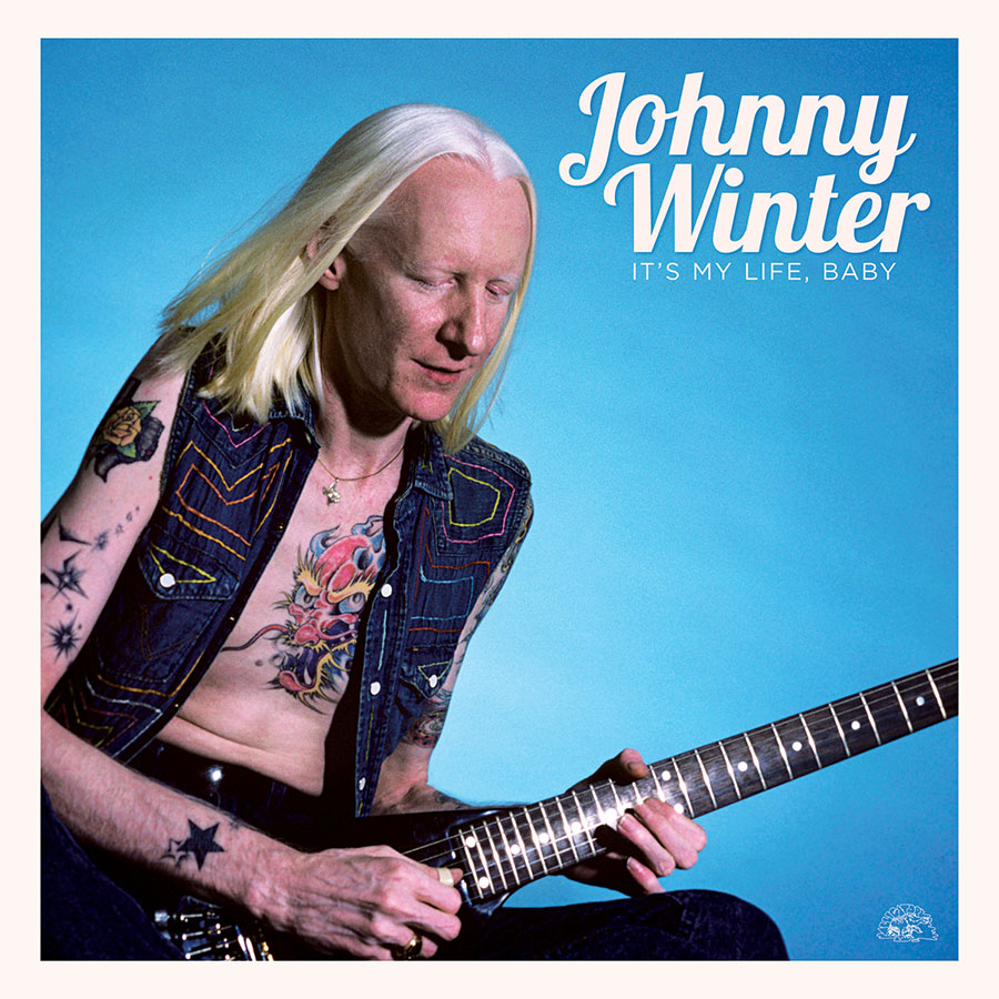 Johnny Winter record store day vinyl release - photo by Ebet Roberts