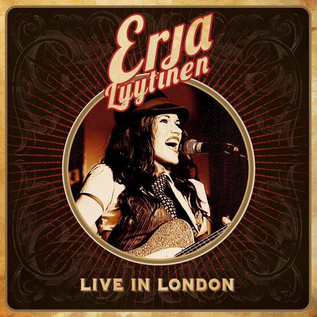 erja lyytinen - live in london (albumcover)