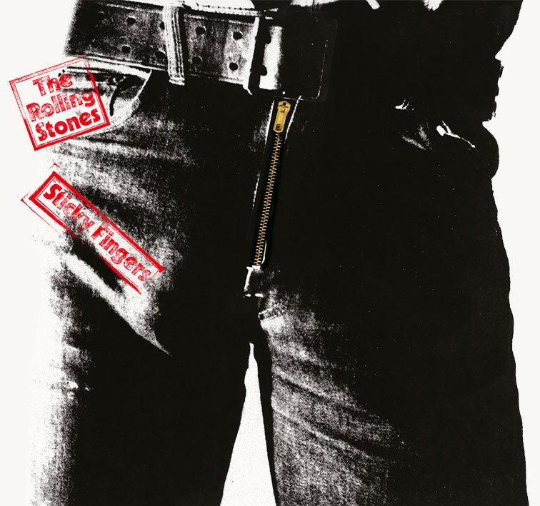 rolling stones sticky fingers cover