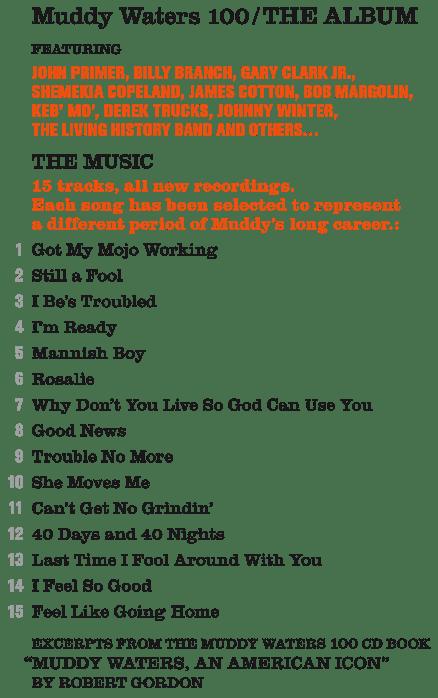 muddy waters 100 tracks