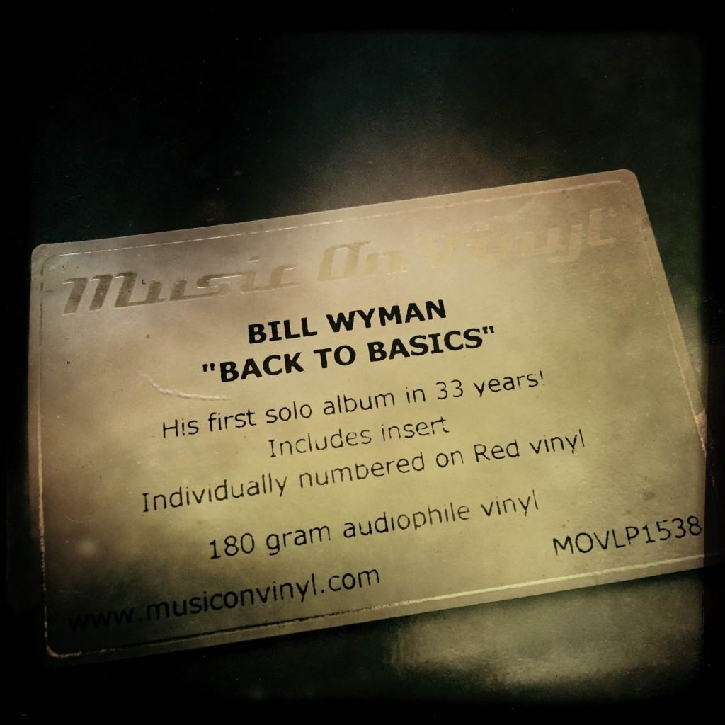 Bill Wyman - Back To Basics - vinyl - 05