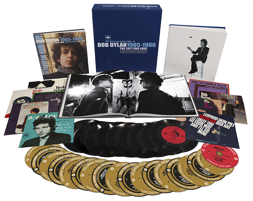 Bob Dylan The Cutting Edge 1965-1966 The Bootleg Series Vol12 - collectors edition