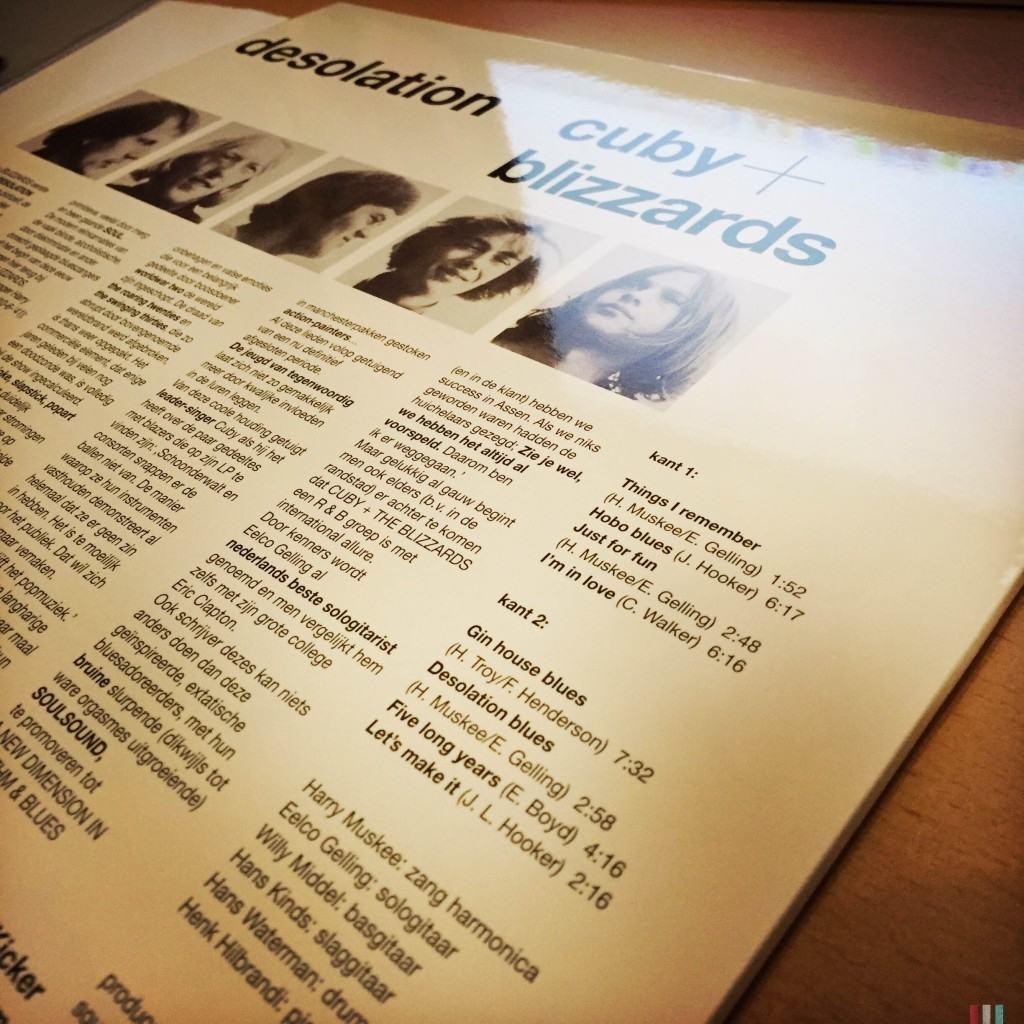 Cuby & The Blizzards - Desolation - vinyl - 01