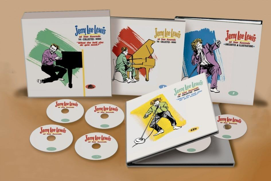 Jerry Lee Lewis At Sun Records The Collected Works