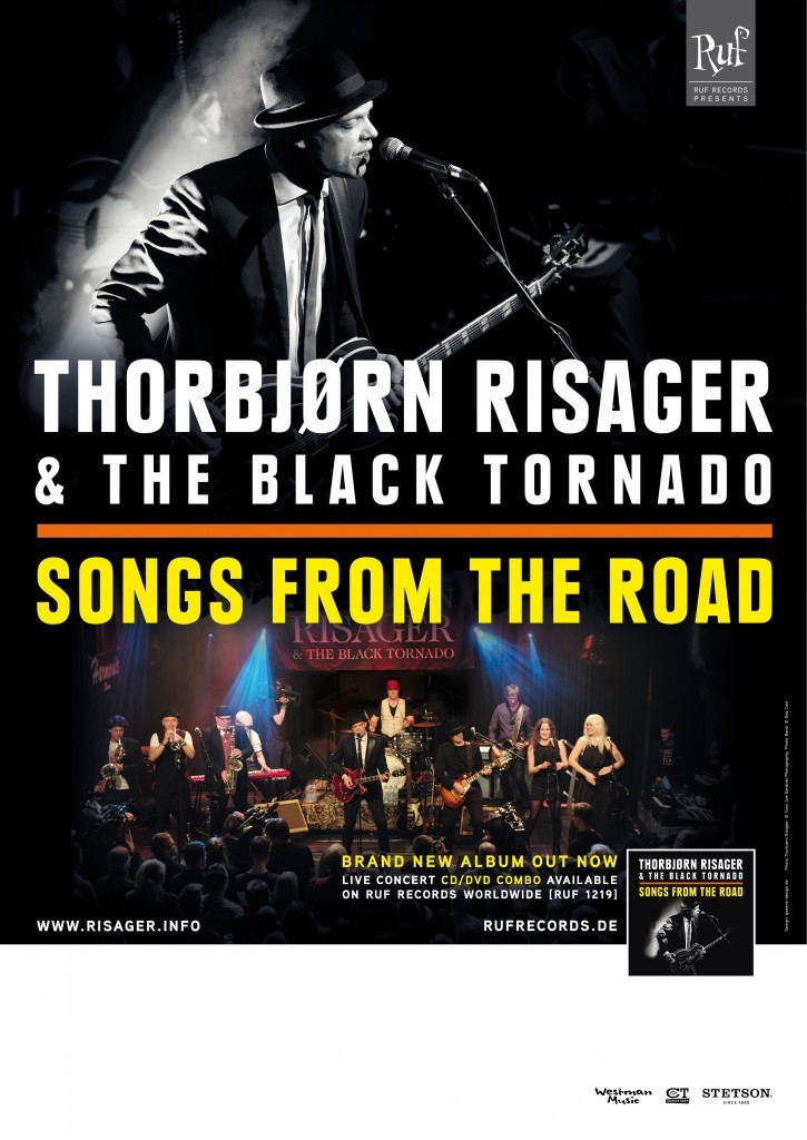 Thorbjørn Risager and The Black Tornado - Songs From The Road (live DVD/CD)