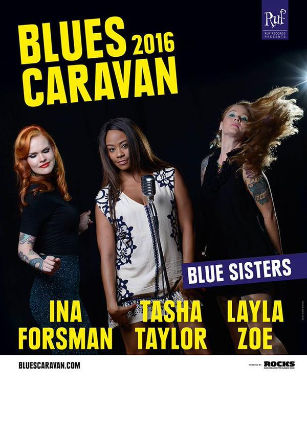 blues caravan 2016 blue sisters