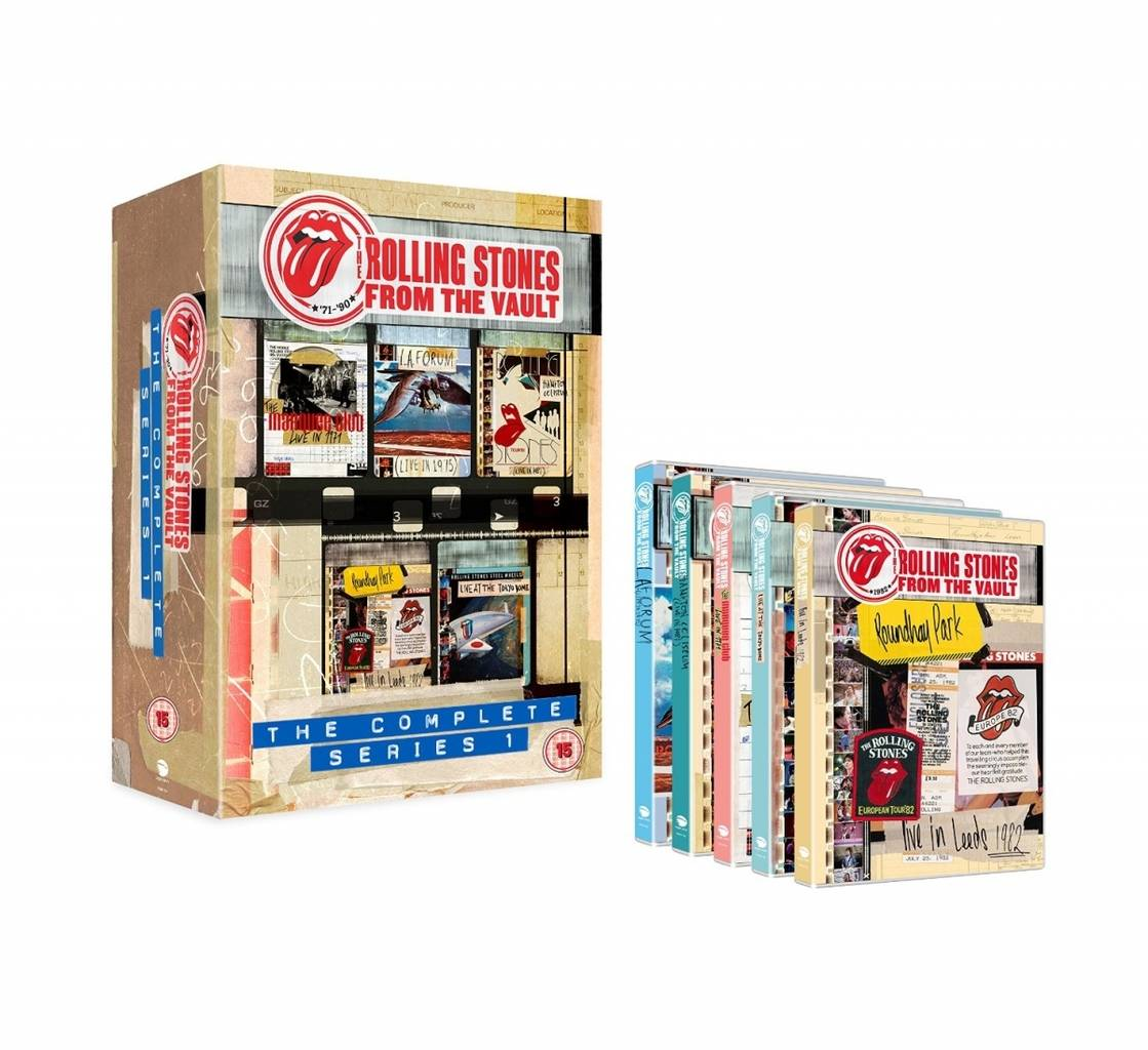 The Rolling Stones - From The Vault- The Complete Series 1 DVD box