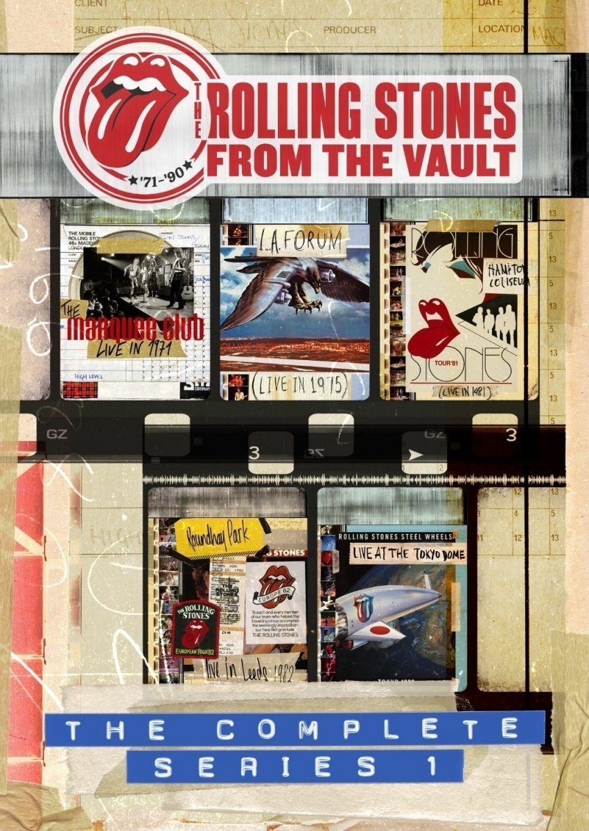 The Rolling Stones - From The Vault- The Complete Series 1 DVD box set