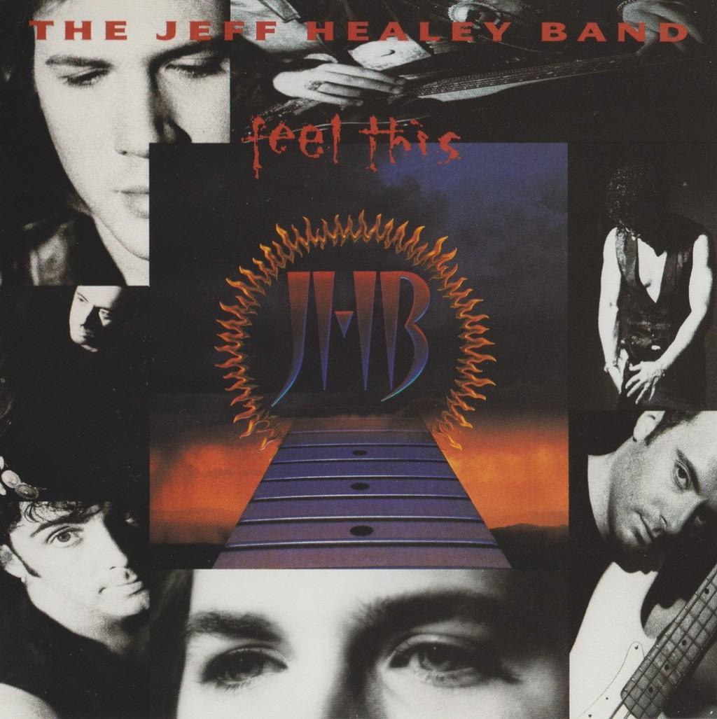 jeff healey feel this vinyl