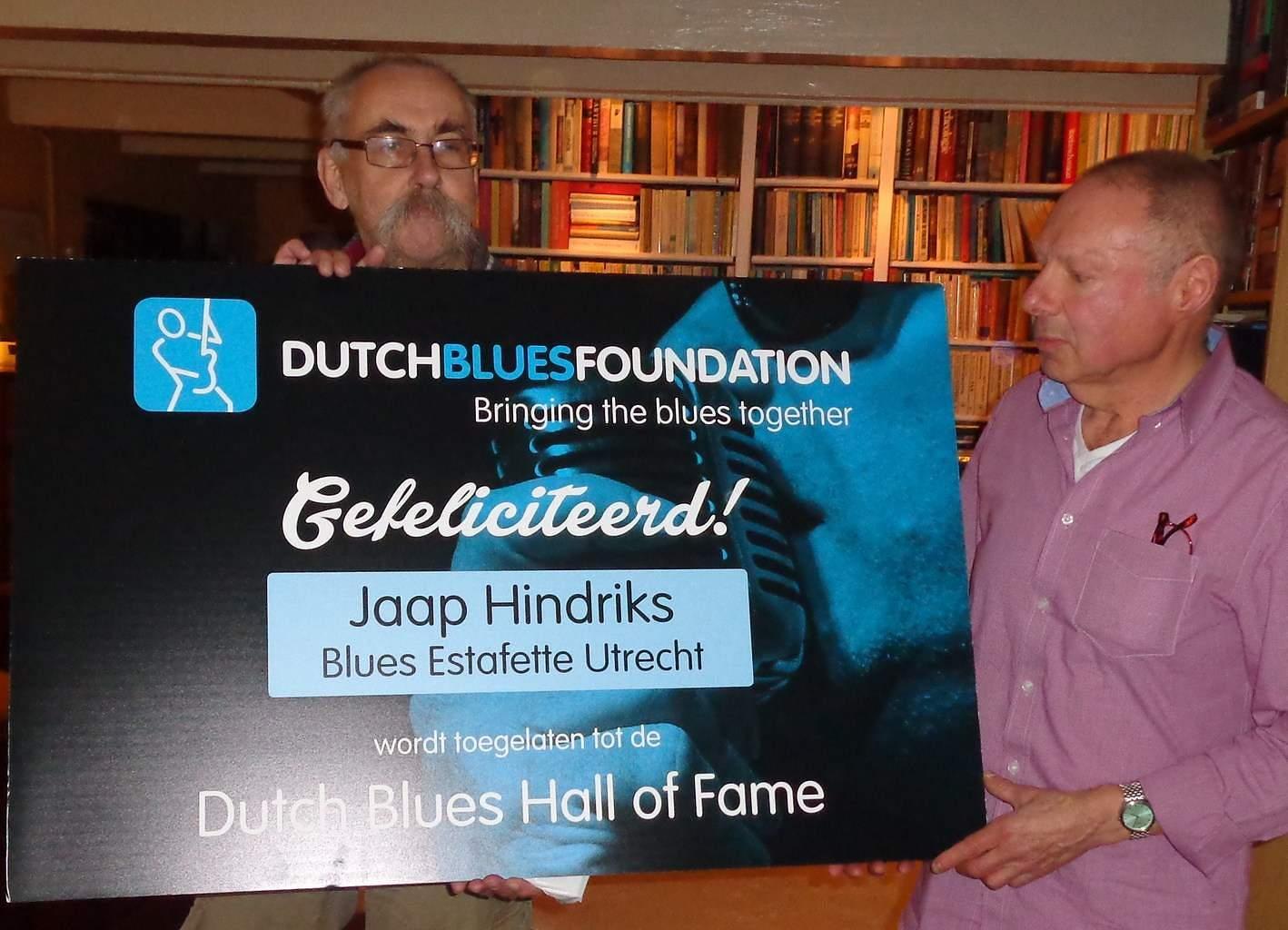 Jaap Hindriks (links) en Fred Broekman (rechts)