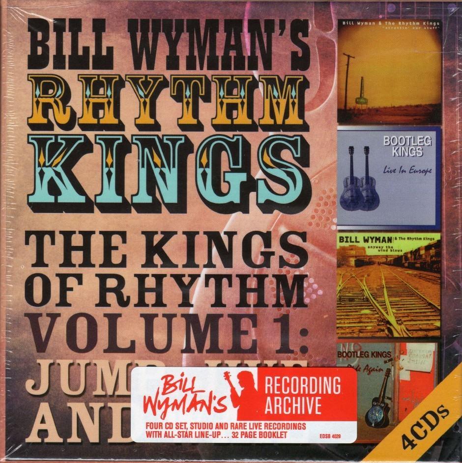Bill Wyman's Rhythm Kings – The kings of rhythm volume 1  Jump, jive and wail
