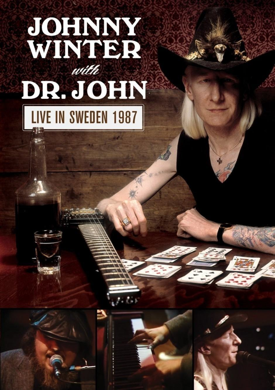Johnny Winter & Dr. John – Live in Sweden 1987