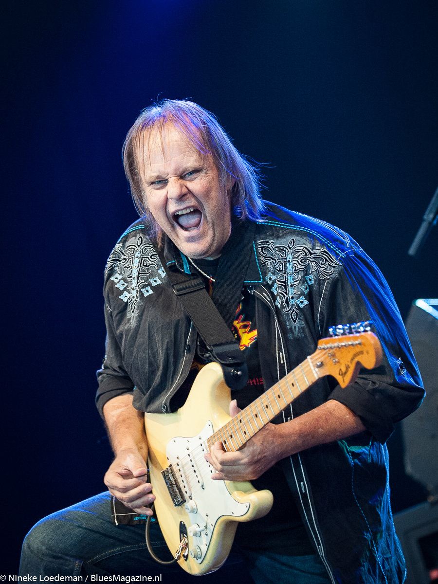 Walter Trout photo by Nineke Loedeman