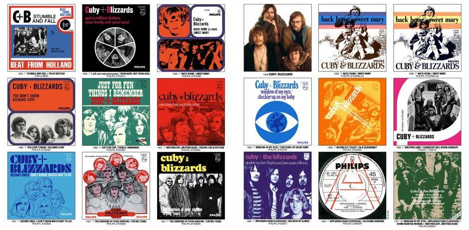 CUBY + BLIZZARDS – Window Of My Eyes: Their Sixties 45s