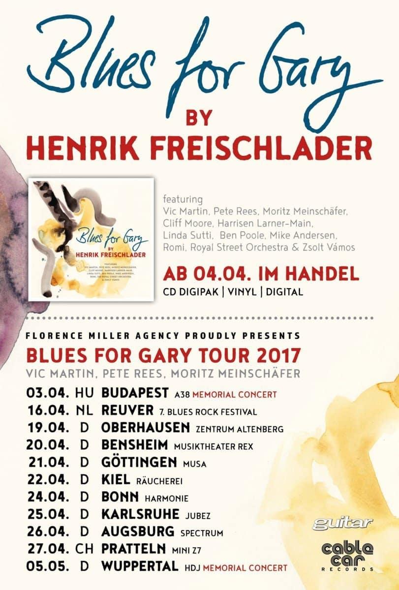Henrik Freischlader - Blues for Gary Tour