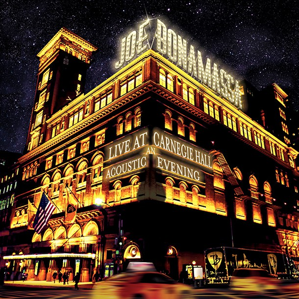 Joe Bonamassa Live At Carnegie Hall An Acoustic Evening
