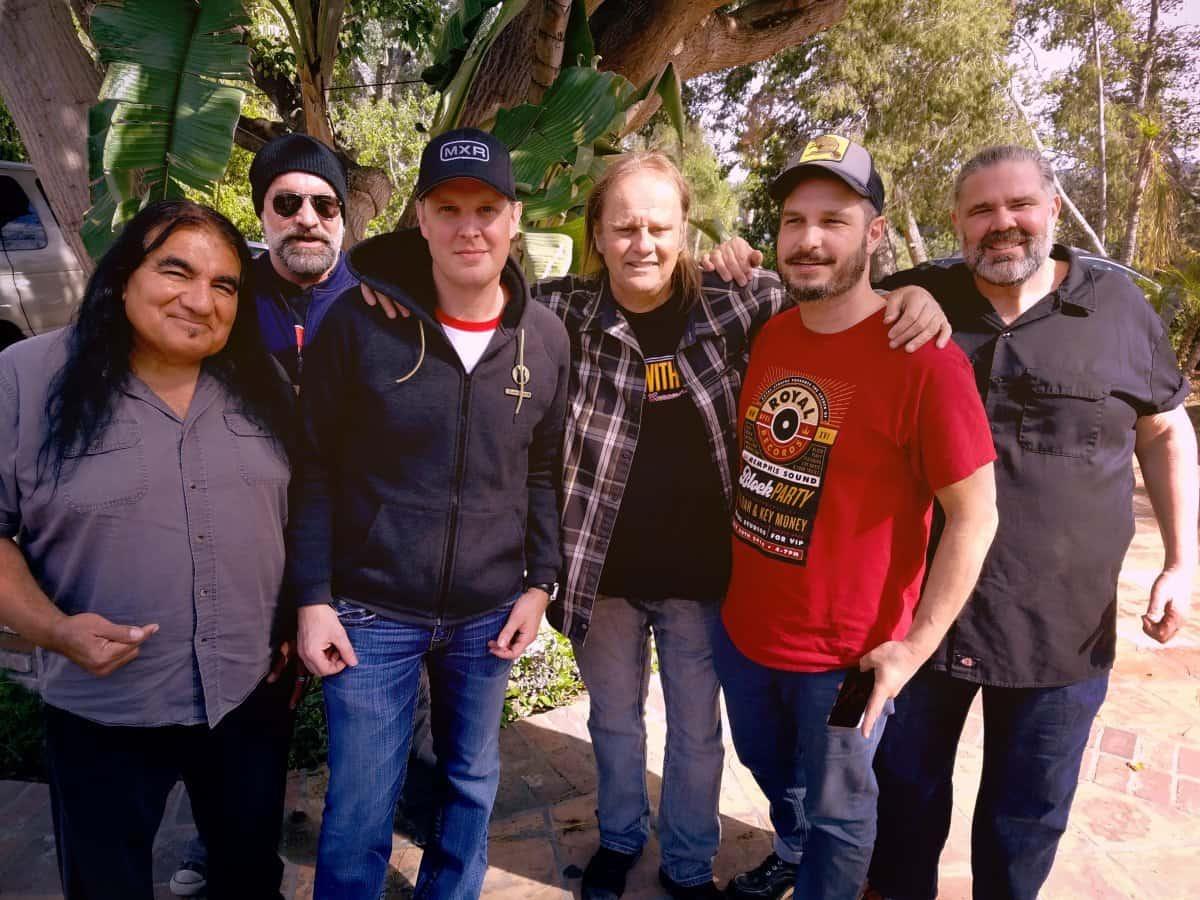 Sammy Avila, Johnny Griparic, Joe Bonamassa, Walter Trout, Eric Corne, Michael Leasure // Photography by Marie Trout
