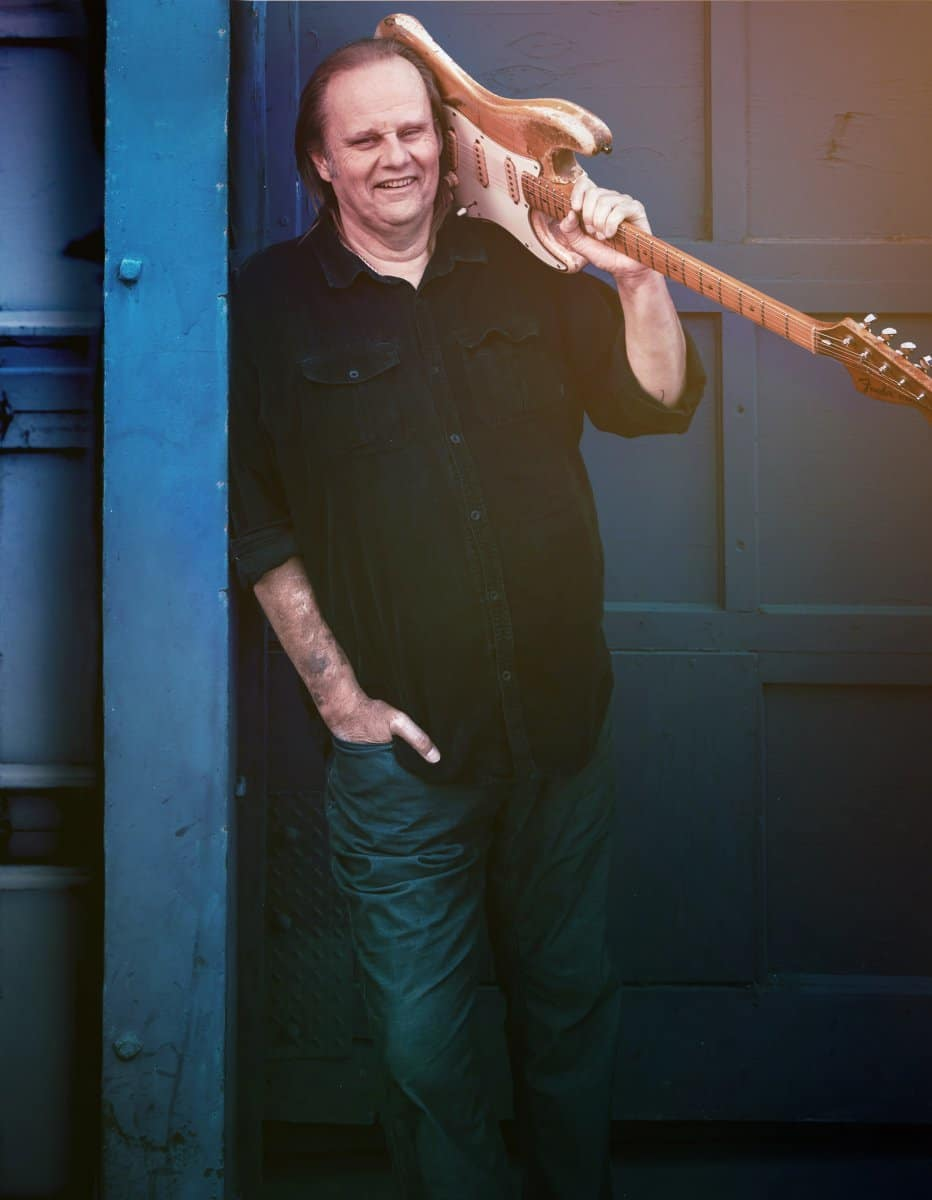 Walter Trout // Photography by Austin Hargave