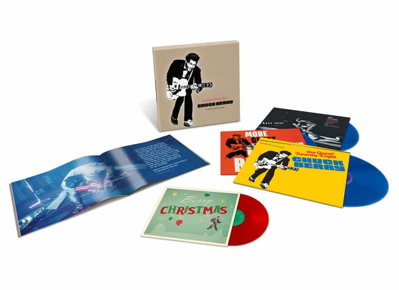 CHUCK BERRY - THE GREAT TWENTY-EIGHT: SUPER DELUXE EDITION CHESS BLUE VINYL