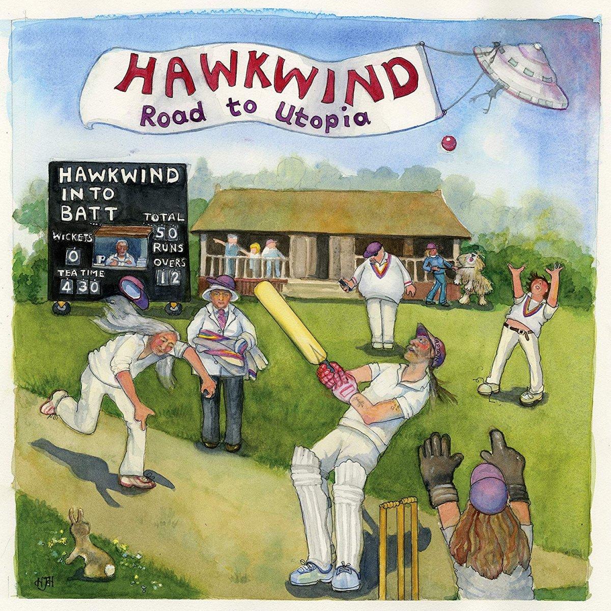 Hawkwind Road To Utopia
