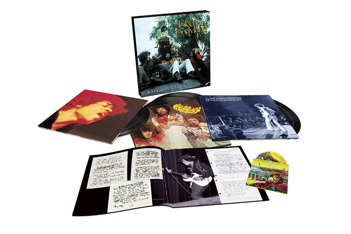 Jimi Hendrix - Electric Ladyland - 50th anniversary release - deluxe