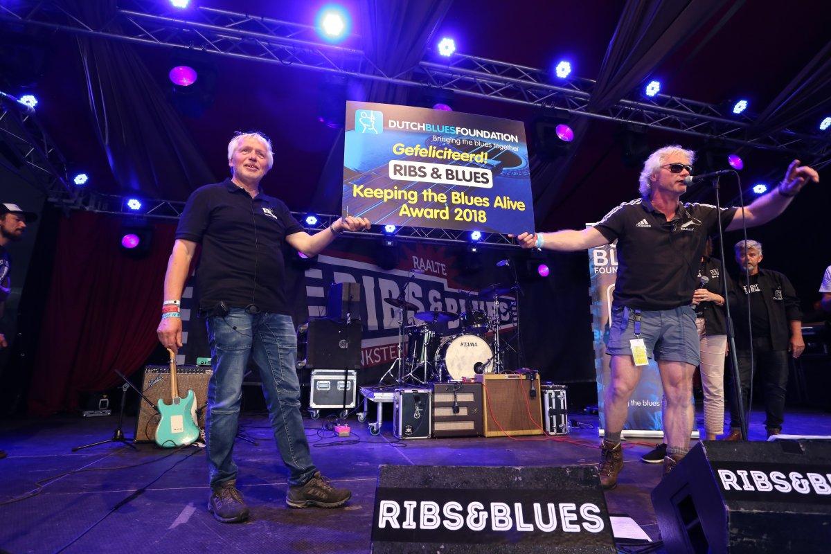 Persbericht Dutch Keeping The Blues Alive Award voor Ribs & Blues