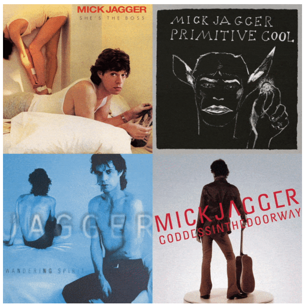 MICK JAGGER COMPLETE SOLO ALBUM CATALOGUE REMASTERED ON VINYL