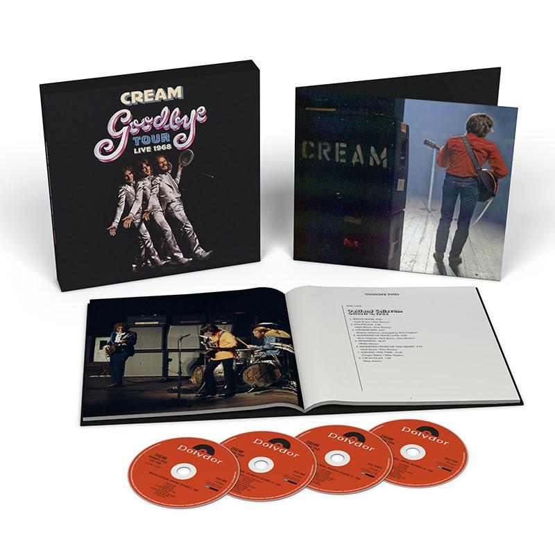 Cream Goodbye Tour - Live 1968 Box Set